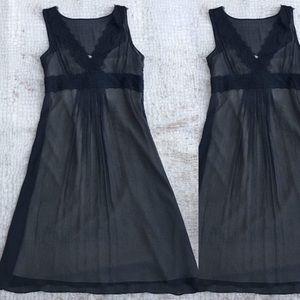 Ann Taylor LOFT Silk Overlay Dress NWOT